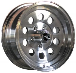 Mod 15 5x4 5 Hispec Aluminum Trailer Wheel Rim