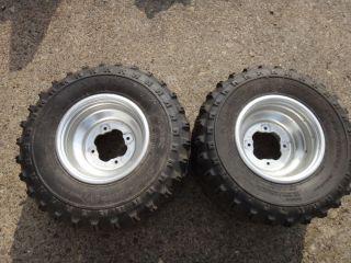 Raptor 660 660R 700 YFZ450 Rear Wheels Rims Tires Z