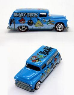 Hot Wheels Custom 55 Chevy Panel Angry Bird