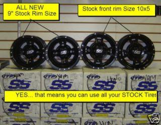Yamaha Raptor 350 660 700 ITP SS 112 Rims Wheels