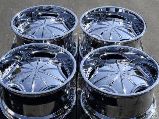 6x139 7 Chrome Wheels Durango Frontier Dodge Dakota Durango Qx56 Rims