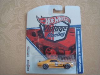 Hot Wheels Vintage Racing 1970 Ford Mustang Boss 302 Parnelli Jones in
