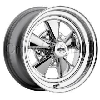 Cragar 61 Car Truck Wheel Rim 15 inch 5 Lug Chrome