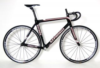 Sorrento Carbon Road Bike Frame Set w FSA Wheels Bar Stem 52 Cm