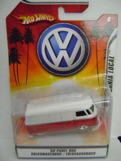 Hot Wheels Volkswagen 58 Panel Bus 1 50 California Local New