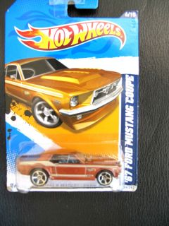 Hot Wheels FORD MUSTANG 1967 Coupe in box for your mini US car