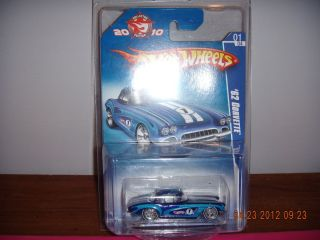 Hot Wheels 2010 62 Corvette 1 of 4 Mail Away Mail In