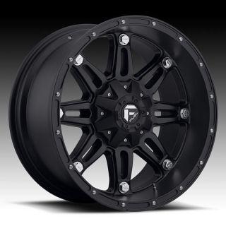 20 Wheels Rims Fuel Hostage Black Suburban Tahoe 1500