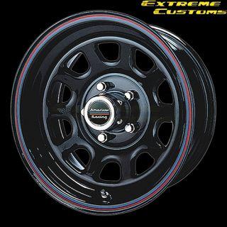 Racing AR767 Gloss Black 5 6 8 Lug Wheels Rims Free Lugs