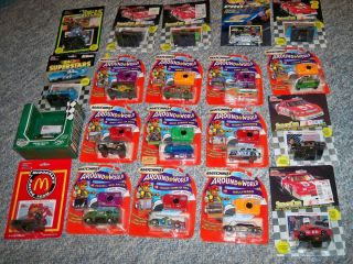 Hot Wheels Matchbox Racing Champion NASCAR 55 car collection unopened