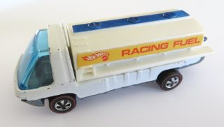 Vintage Redlines Hot Wheels Heavyweights Racing Fuel Tanker Truck 1971