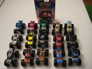 Hot Wheels Monster Jam Trucks 1 64 Lot of 16