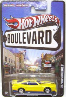 Hot Wheels Boulevard Underdogs 78 Ford Mustang II 1 64