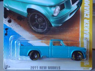 Hot Wheels 2011 New Models Series 63 Studebaker Champ Pickup Truck