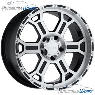 Raptor 5x120 65 5x4 75 0mm Black Machined Wheels Rims inch 16