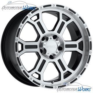 Raptor 5x120 65 5x4 75 0mm Black Machined Wheels Rims inch 16