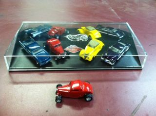 Hot Wheels Custom Rods Boyd Coddington 4 Car Set Plus One