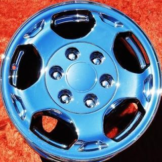NEW 16 CHEVROLET SILVERADO TAHOE SUBURBAN CHROME OEM WHEELS RIMS 5154