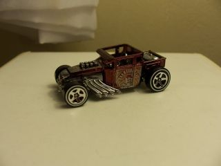Hot Wheels Bone Shaker Special Paint Edition R 58 New Without Package