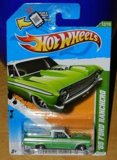 Hot Wheels Regular Treasure Hunt 65 Ford Ranchero 2012