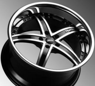 19 Vertini Fairlady Staggered Black Wheels Mercedes Benz 5x112 New C
