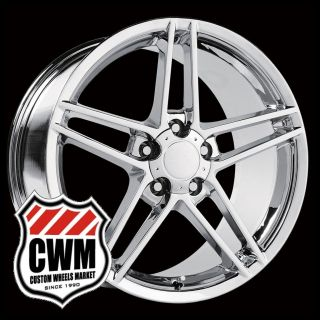 Corvette C6 Z06 Chrome Replica Wheels Rims for Chevy Camaro 1993 2002