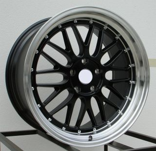19 LM Style Gloss Black Wheels Rims Fit BMW E60 E61 2003 2009 5