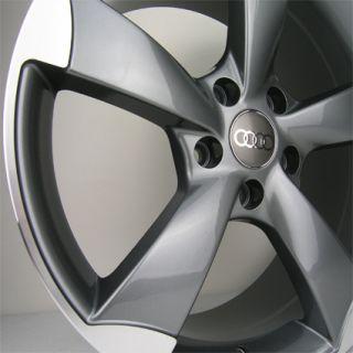 A3 TT RS A5 STYLE ROTOR VW VOLKSWAGEN JETTA GOLF GTI PASSAT WHEELS RIM
