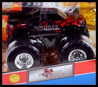 Hot Wheels Monster Jam Truck 1st Editions 2012 Northern Nightmare 1 64