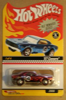 Hot Wheels 2006 RLC Red Line Club HWC 67 Camaro RLC Rewards Series #1