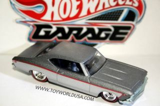 2011 Hot Wheels Garage 69 Chevy Chevelle SS 396 30 Car Set