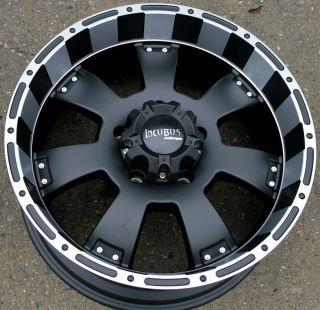 Incubus Krawler 815 20 Black Rims Wheels Toyota Tundra 5H 5x150