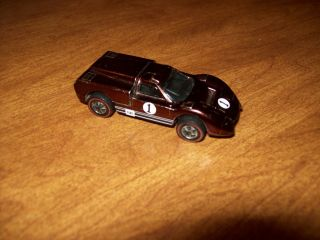 Hot Wheels Redline FORD J CAR BROWN 6214 NICE! CLEAN PAINT USA 1968