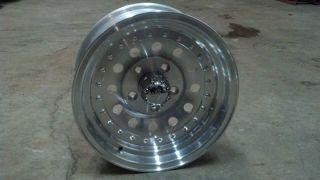 Ultra 62 15 15x7 5x4 75 5 Lug Silver Wheel Rim 625761 2WD S10 Blazer
