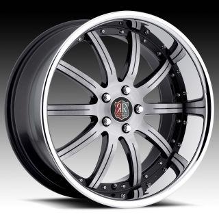 20 Roderick RW3 Rims Wheels Tires for Lexus GS300 gs350 GS400 LS430