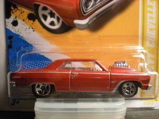 Hot Wheels 12 New Models 64 Chevy Chevelle SS ProStreet