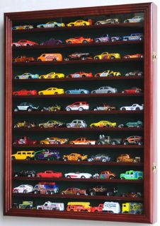 60 Hot Wheels 1 64 Scale Diecast Display Case Cabinet Wall Rack LED