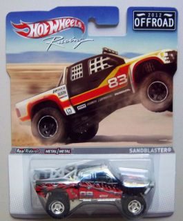 Sandblaster Offroad 2012 Hot Wheels Racing Diecast Model 1 64