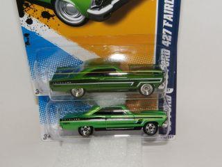 Hot Wheels 66 Ford 427 Fairlane Super Hidden Treasure Hunt + Bonus