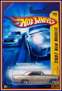 2007 Hot Wheels 009 66 Chevy Nova