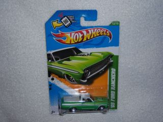 Hot Wheels 2012 Regular Treasure Hunt 65 Ford Ranchero New