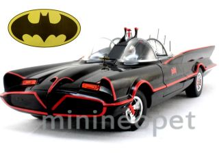 Hot Wheels Batman 1966 66 Batmobile 1 18 TV Series Black