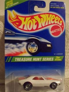 RARE 1995 Hot Wheels 67 Camaro Treasure Hunt Mint on Card Hard to Find
