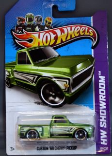 Hot Wheels 2013 Release Custom 69 Chevy Pickup