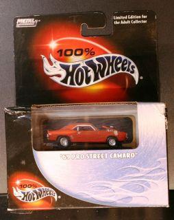 Hot Wheels Limited Edition 100 69 Pro Street Camaro