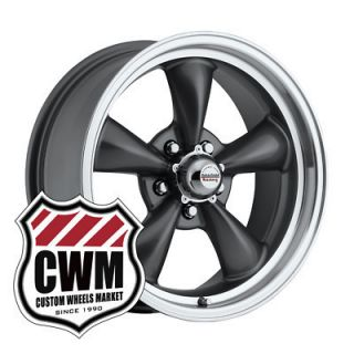 17x8 Gray Wheels Rims 5x4 75 lug pattern for Pontiac Grand Prix 69 81