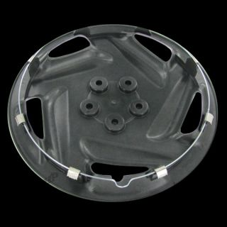 Silver Hubcaps Center Hub Caps Wheel Rim Covers