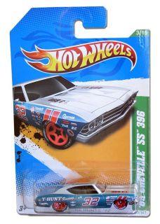 2012 Hot Wheels 69 Chevrolet Chevelle SS 396 Treasure Hunt