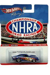 Hot Wheels Racing Championship NHRA Drag Racing 74 Chevy Vega Pro