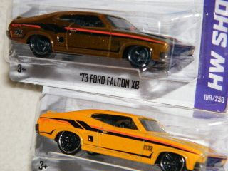 Hot Wheels 2013 SUPER Treasure Hunt 73 Ford Falcon real rider world